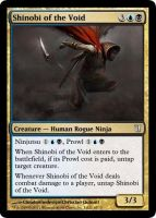 shinobi of the void MTG fan made by roshichen