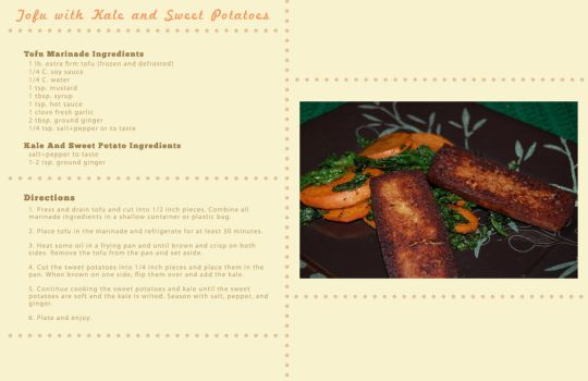 Recipe Print Design by mafromage