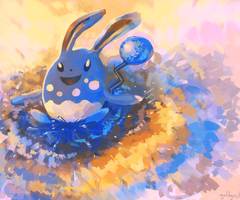azumarill by goldgust