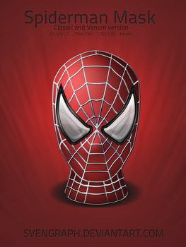 Spiderman Mask Pack by Svengraph