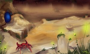 The Sands of Maridia by 3ihard