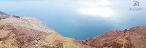dead sea panorama by zeidroid