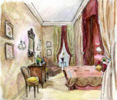 Interior drawing 3 by hardcorish