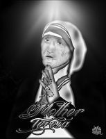 mother teresa by lunij88