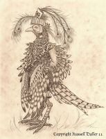 Anthro Pheasant by RussellTuller