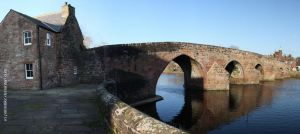 Devorgilla Bridge Dumfries by printsILike