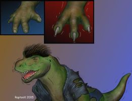 V-rex transformation page 4 by raptonx