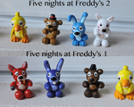 Five Night at Freddy's Figure [HD Pic] by VioletHybrid