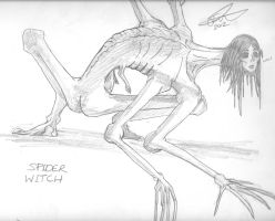 Spider Witch: Stalker of the Wood of Suicides by Joahnaut