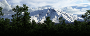 Mountain - WIP by Gannaingh32