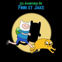 The Adventures of Finn and Jake (tintin style) by MapDark