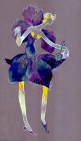 Violet queen by IrenGold