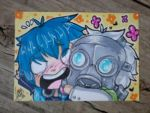 [ACEO] Aoba / Clear [Flowery Hugs] by NerinSerene