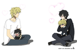 DRR Shizaya Hate Hate Love by artist-san