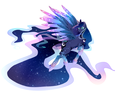 [Rainbow Power] Princess Luna by TsuukiUsa