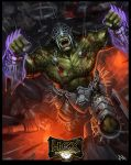 Claw the Mountaingod - HEXTCG by RogierB