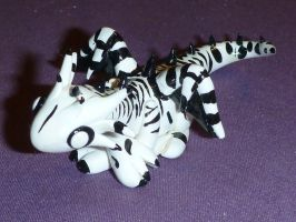 Zebra Dragon by NinjaLizzard