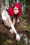 Mistress Of The Swamp by wormwood-doll