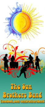 The Sun Brothers Band Flyer by ixapod