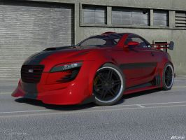 Audi R10cx. Concept nr... by cipriany
