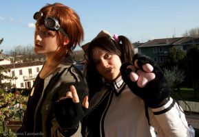 Hwoarang and Xiaoyu Friends BL by Tippy-The-Bunny