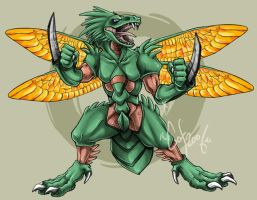 ScyStorm.Scyther by guardianofire