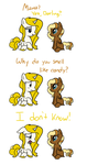 Inquisitive Little Foal by Emkay-MLP