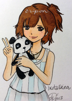 Eripon and the Panda by PucchiQ