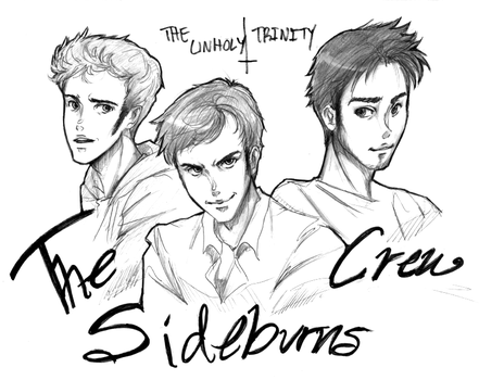 The Sideburns Crew (Unholy Trinity) by ValWing