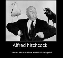 hitchcock poster by I-and-Me