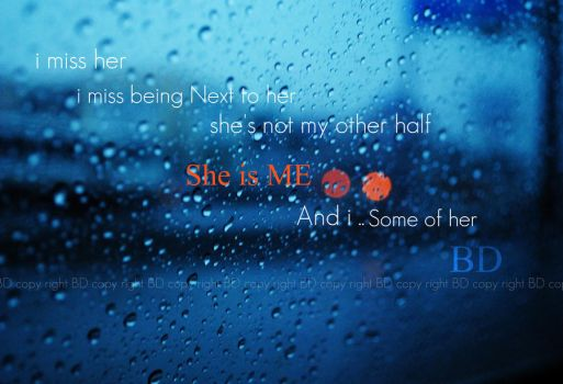 + SHE IS ME + by B-Sworld