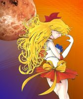 Sailor Venus by lauralaima