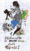 Minecraft is more than just Blocks by HellsingDragoness