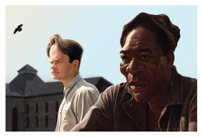 The Shawshank Redemption by markdraws