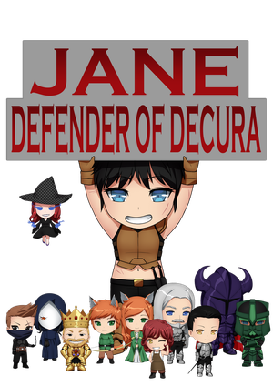 Jane, Defender of Decura Logo Update 4 by LordWolx