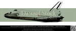NASA Independence Space Shuttle - PRECUT STOCK by DamselStock