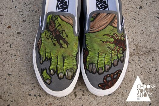 More Zombie Shoes by mburk