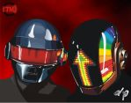 DAFT PUNK by TadeoMendoza