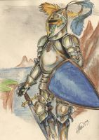 knight by Laterne-Magica