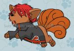 Sasori the Vulpix by Sonyie