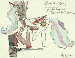 (RE+MLP Crossover) Giant Axe Zombie by Ravenslpash26