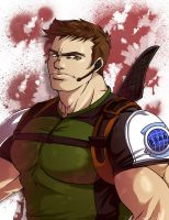 Chris Redfield by FallenMessiahX