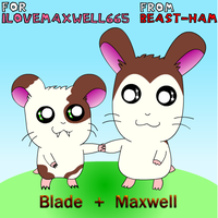 .:OLD:. - Blade and Maxwell by Beasty-Kun