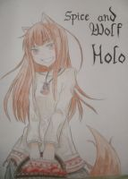 Holo - Spice and Wolf by rockstarrzz