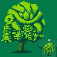 Topiary Turtle Tree by amegoddess