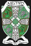 Airmid, The Coat of Arms (Drawing) by Silyah246