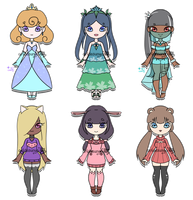 [OPEN 1/6] - Crowned/Sweater-mimi Adopts by aridesunya