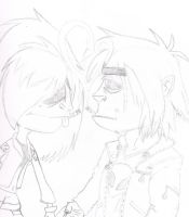 Art trade Kandi and 2D by sixteen6stars