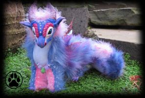 SOLD Periwinkle the baby pixie dragon art doll by CreaturesofNat