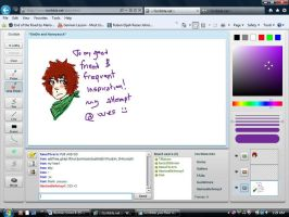 iscribble - wesley for iran by Thylacyanide